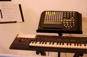 Patrick's MIDI controllers.