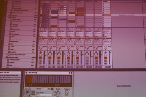 Patrick's Ableton session.