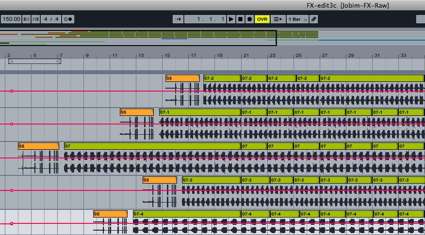 bossa nova drum beat pdf